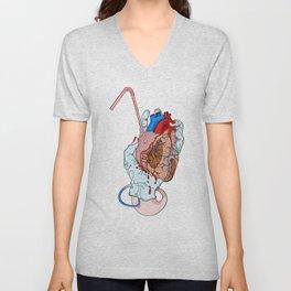 fresh heart Unisex V-Neck