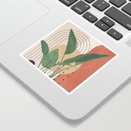 Nature Geometry V Sticker