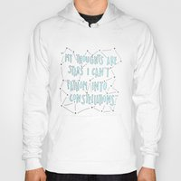 fault in our stars Hoodies featuring The Fault in Our Stars by Christa Morgan ☽