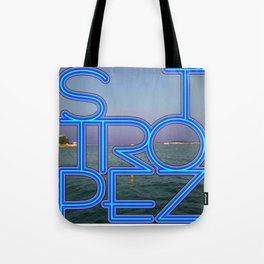 St.Tropez at night. Tote Bag