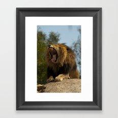Roar Framed Art Print