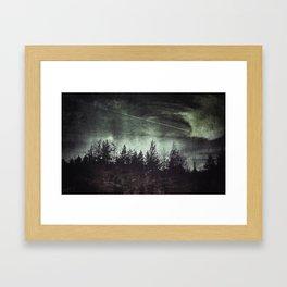 I wish i may i wish i might... Framed Art Print