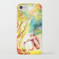 fishing iPhone & iPod Cases featuring FISHING by danyDINIZ