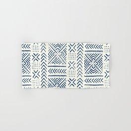 Line Mud Cloth // Ivory & Navy Hand & Bath Towel