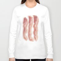 bacon Long Sleeve T-shirts featuring Bacon by Triplea