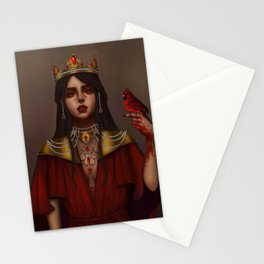 Queen Liana of Osolda Stationery Cards