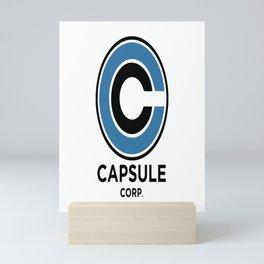 Capsule Corp Mini Art Print