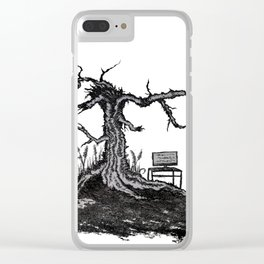 Addiction (Tv-Tree) Clear iPhone Case