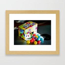 Gobstop-eggs Framed Art Print