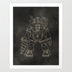 Big Daddy: BioShock Art Print