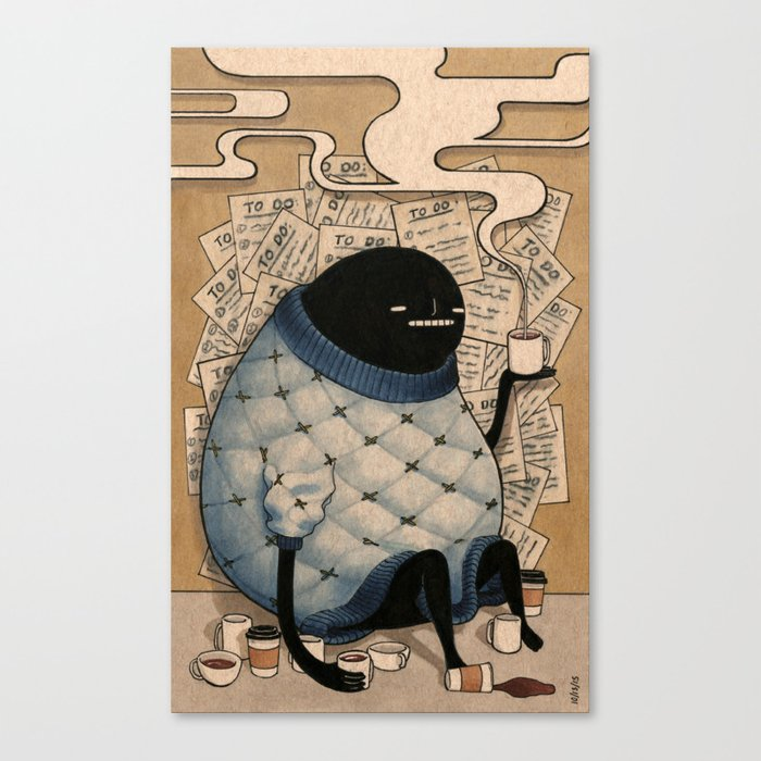 To Do Canvas Print