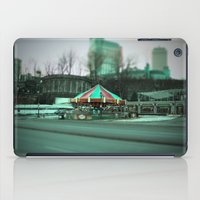 carousel iPad Cases featuring Carousel by Danielle Podeszek
