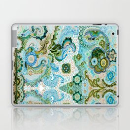 Flower Mosaic - by Fanitsa Petrou Laptop & iPad Skin