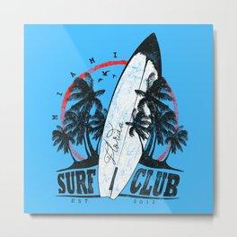 Florida Surfing Club  Metal Print