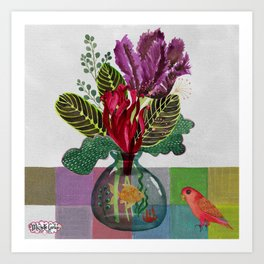 Flowers for you No. 2 Art Print