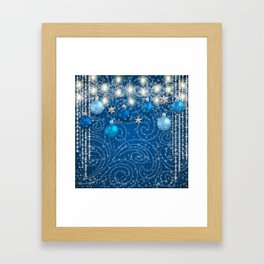 Christmas decoration Framed Art Print