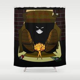 The Maxx: Free Hero to Good Home  Shower Curtain