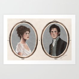 Pride and Prejudice Art Print