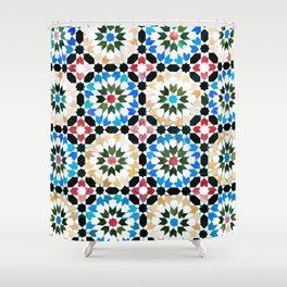Oriental pattern Shower Curtain