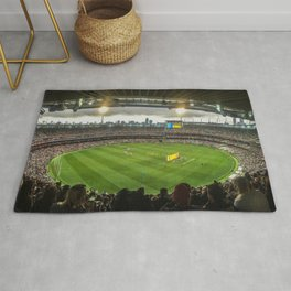 Let the Games Begin at the MCG Rug