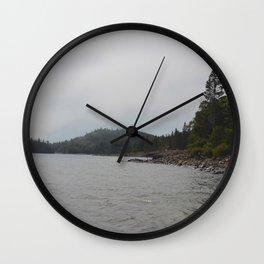 Lake Beach Wall Clock