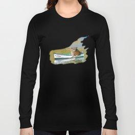 Rudolph at Sea Long Sleeve T-shirt
