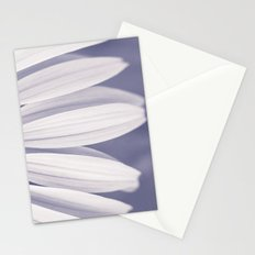 Cascade of Petals (Monochrome) Stationery Cards