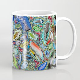 Feathers of birds of the world Coffee Mug