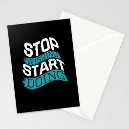 Motivation Saying Stationery Cards
