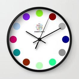 Robert Hirst Spot Clock 18 Wall Clock
