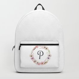 Floral Wreath - P Backpack