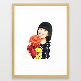 Flower~chan Framed Art Print