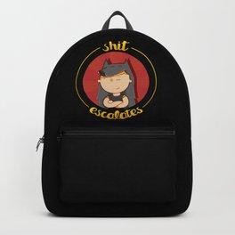 Sh*t escalates Backpack