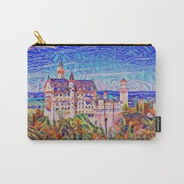 Neuschwanstein Gingerbread and Candy Carry-All Pouch