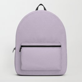 Lilac Solid Color Backpack