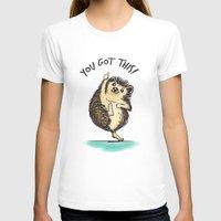 motivational T-shirts featuring Motivational Hedgehog by Samantha DeLuca