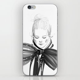Black Bow iPhone Skin