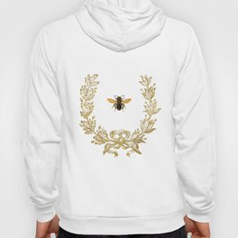 French Bee acorn wreath Hoody