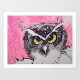 Owl 1 Art Print