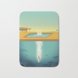 Beneath the Surface Bath Mat