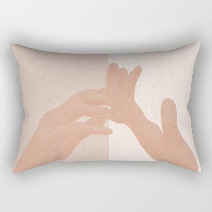 Come with Me Rectangular Pillow