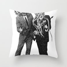 The Made Us Detectives (1979) Monochrome Throw Pillow