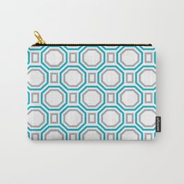 Blue Harmony II Symmetry Carry-All Pouch