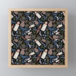 Acadia Pattern 2 Framed Mini Art Print