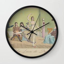 La lecon de danse Wall Clock