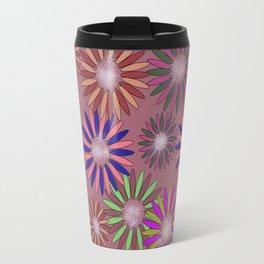 Floral Meditation Travel Mug