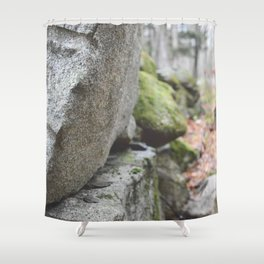 Out of Focus Shower Curtain