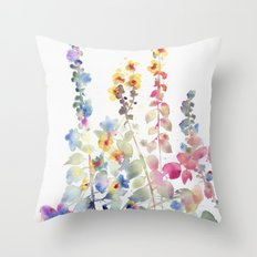 fiori II Throw Pillow