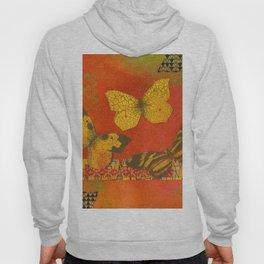 Three Butterflies Hoody