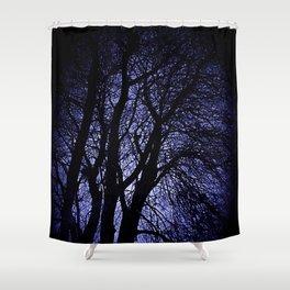 Barren Tree Branches Shower Curtain